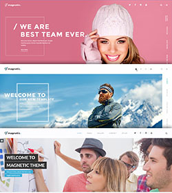 Creative Agency theme for Wordpress