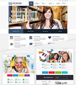 School theme for Wordpress